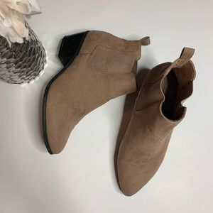 | ASOS taupe bootie | size 6